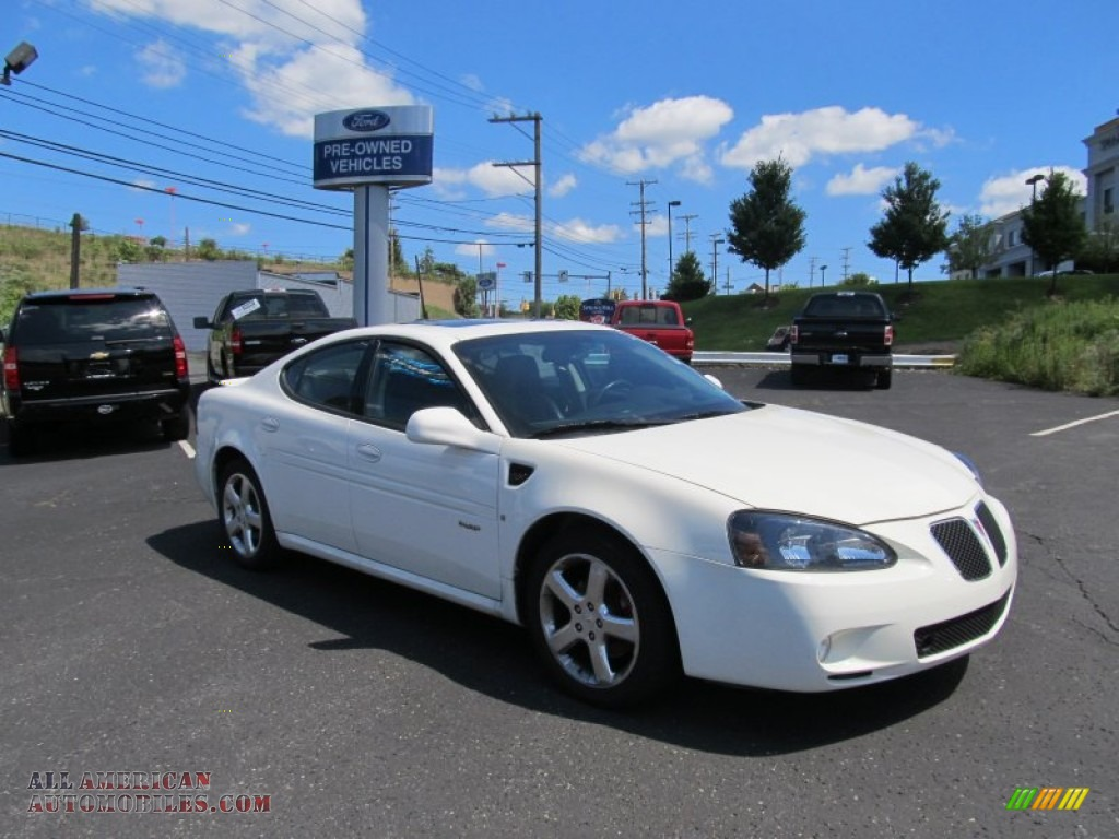 2008 Pontiac Grand Prix Gxp Sedan In Ivory White 162848 All American Automobiles Buy