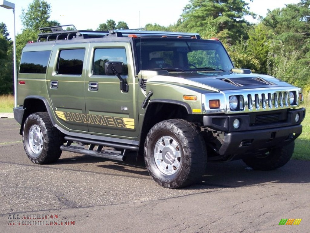 Green 2011 Hummer H2 Hummer Exterior 2010 H3 Car