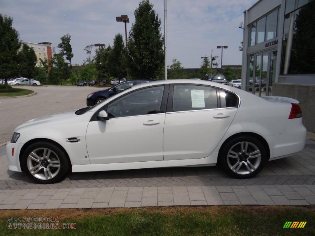 2008 Pontiac G8 In White Hot 138136 All American