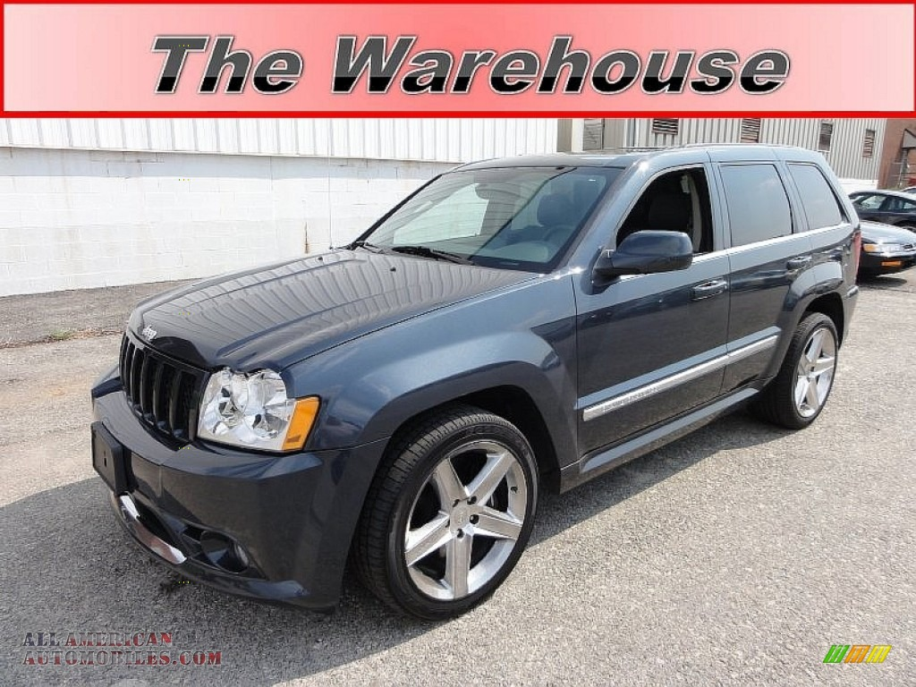2007 jeep grand cherokee srt8 4x4 in steel blue metallic 658468. Cars Review. Best American Auto & Cars Review