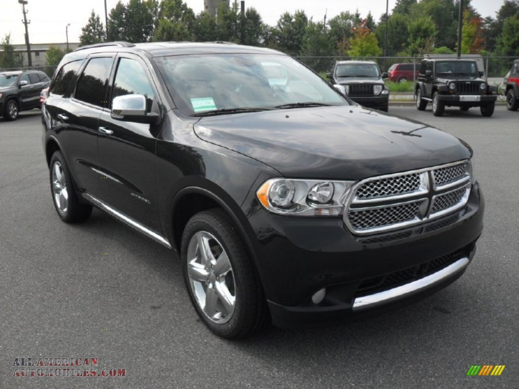 2012 dodge durango citadel awd in brilliant black crystal for Steve white motors inc