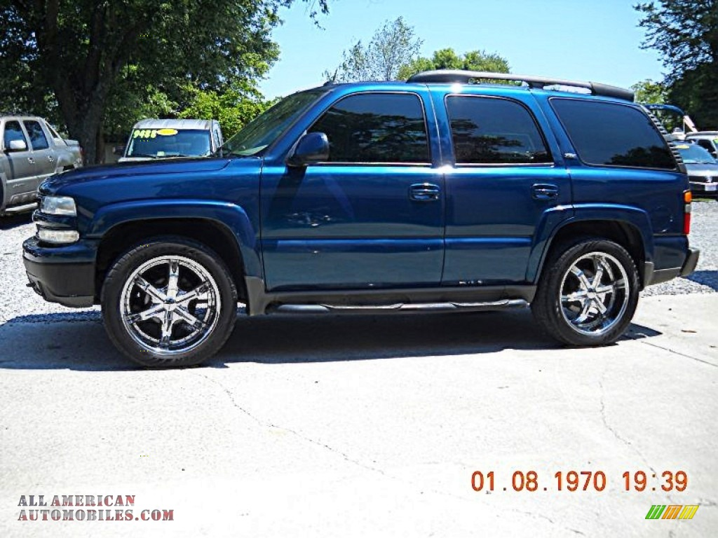 Maryville Auto Sales >> 2005 Chevrolet Tahoe Z71 4x4 in Bermuda Blue Metallic photo #2 - 132517 | All American ...