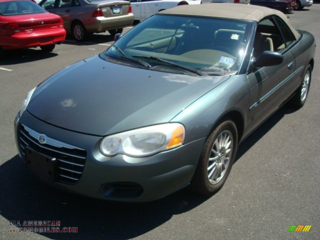 2004 chrysler sebring lx convertible in onyx green pearl. Black Bedroom Furniture Sets. Home Design Ideas
