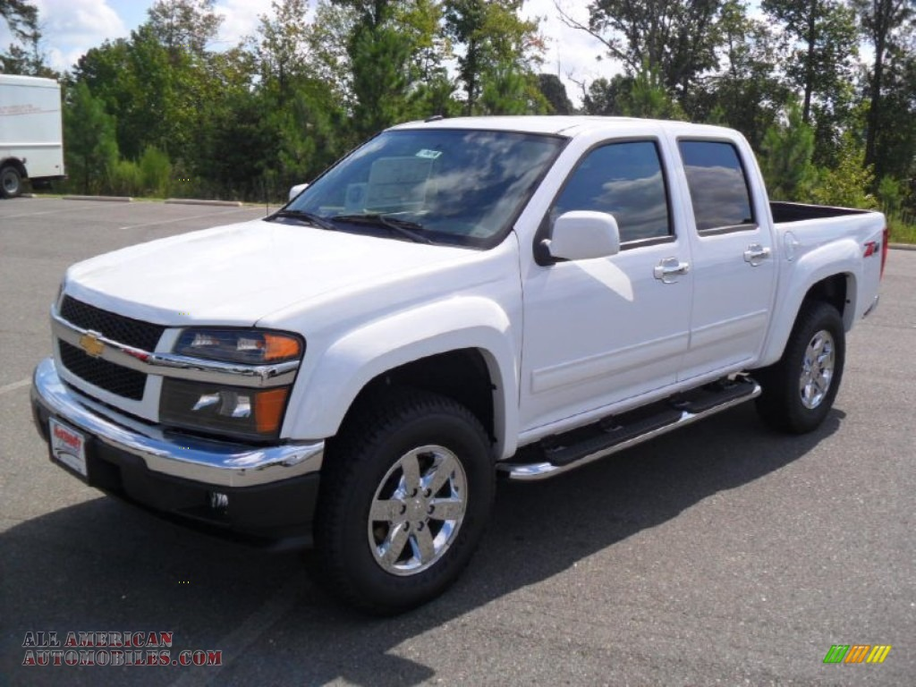 Pine Belt Cadillac >> 2012 Chevrolet Colorado LT Crew Cab 4x4 in Summit White ...