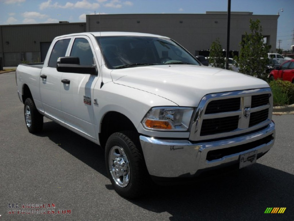 2012 dodge ram 2500 hd st crew cab 4x4 in bright white photo 5 106240 all american. Black Bedroom Furniture Sets. Home Design Ideas