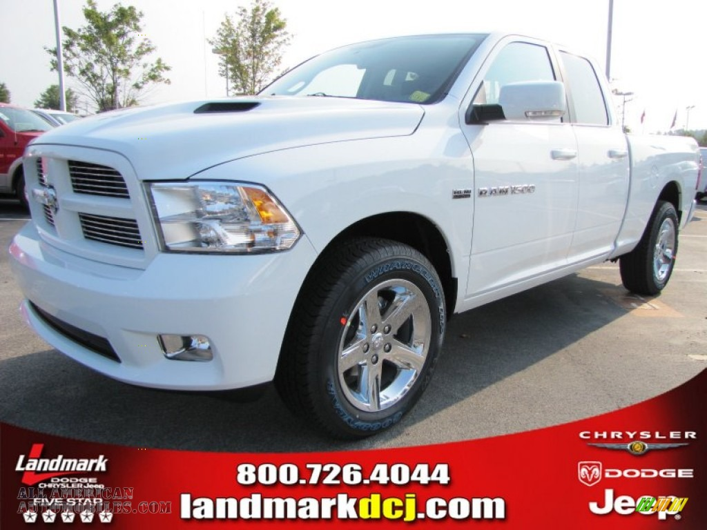 2012 dodge ram 1500 sport quad cab in bright white photo 13 118007. Cars Review. Best American Auto & Cars Review