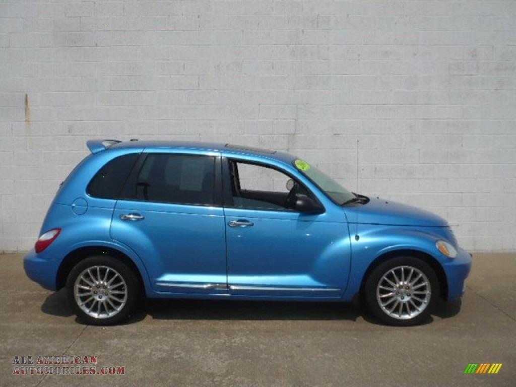 2008 chrysler pt cruiser limited turbo in surf blue pearl. Black Bedroom Furniture Sets. Home Design Ideas