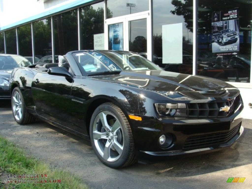 2012 chevrolet camaro ss rs convertible in black 111215 all. Cars Review. Best American Auto & Cars Review