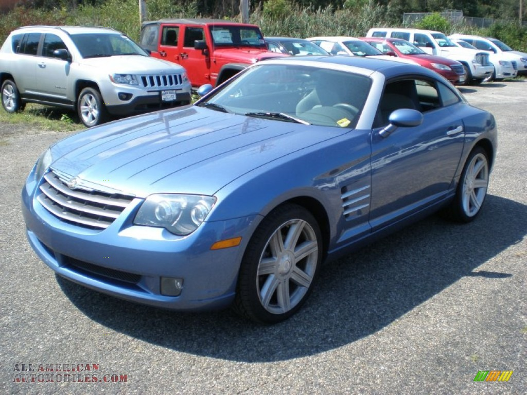 2006 chrysler crossfire limited coupe in aero blue pearl 067086 all american automobiles. Black Bedroom Furniture Sets. Home Design Ideas