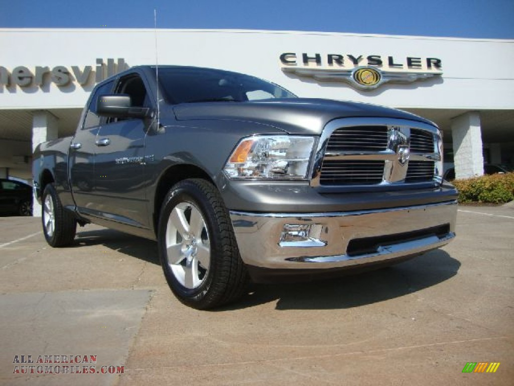 2012 dodge ram 1500 big horn quad cab in mineral gray metallic. Cars Review. Best American Auto & Cars Review