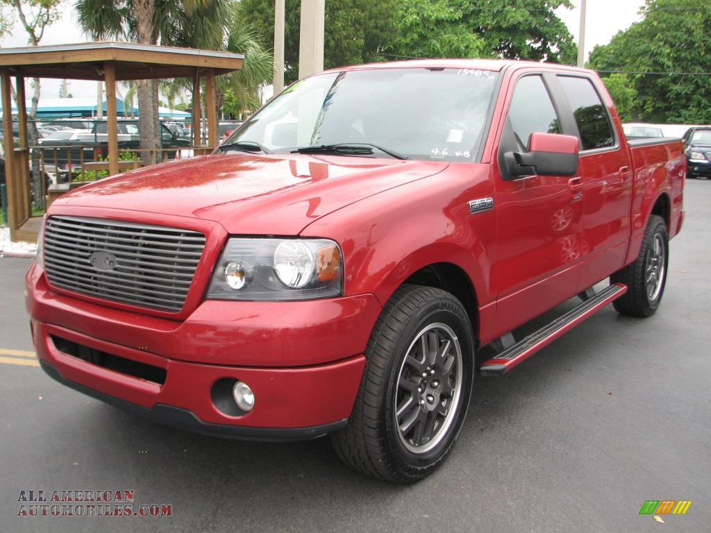 2008 ford f150 fx2 sport supercrew in redfire metallic photo 5 b82601 all american. Black Bedroom Furniture Sets. Home Design Ideas