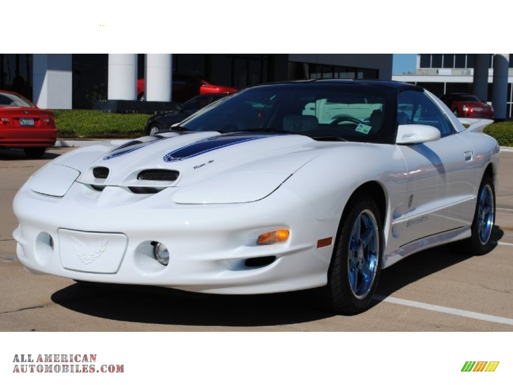 Pontiac firebird th anniversary trans am coupe in