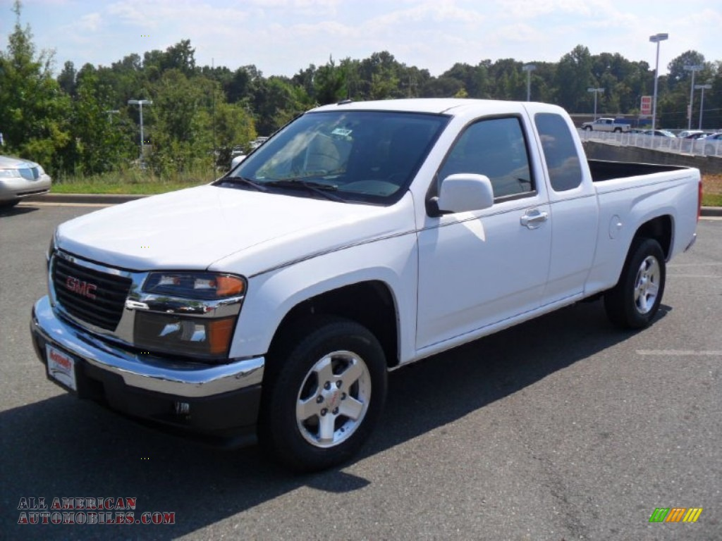 2012 gmc canyon sle extended cab in summit white 102475 all american automobiles buy. Black Bedroom Furniture Sets. Home Design Ideas