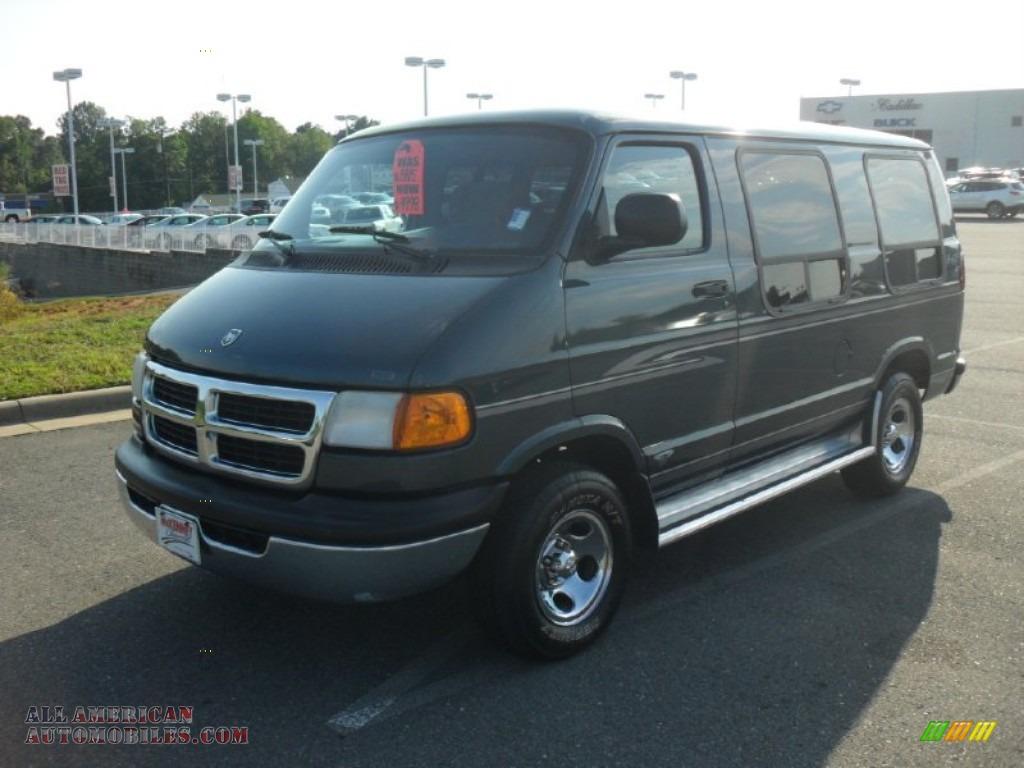 Pine Belt Cadillac >> 1998 Dodge Ram Van 1500 Passenger Conversion in Hunter Green Metallic - 140809 | All American ...