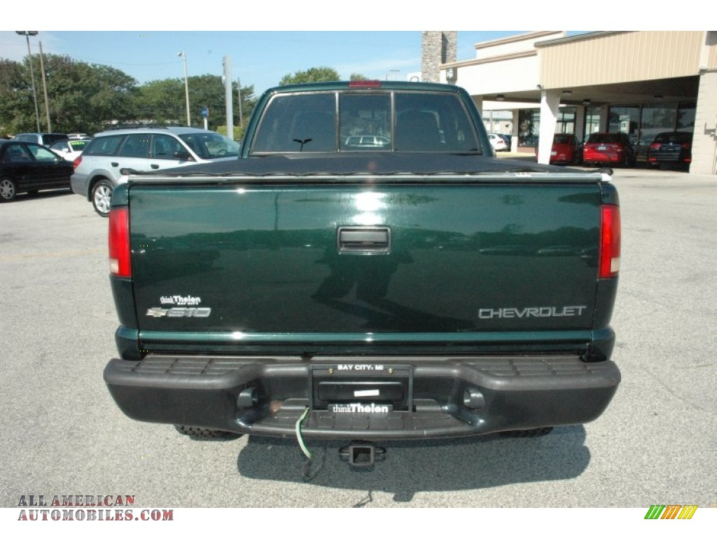 Thelen Bay City >> 2002 Chevrolet S10 ZR2 Extended Cab 4x4 in Forest Green ...