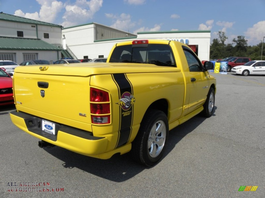 2005 dodge ram 1500 slt rumble bee regular cab in solar yellow photo 9 517735 all american. Black Bedroom Furniture Sets. Home Design Ideas