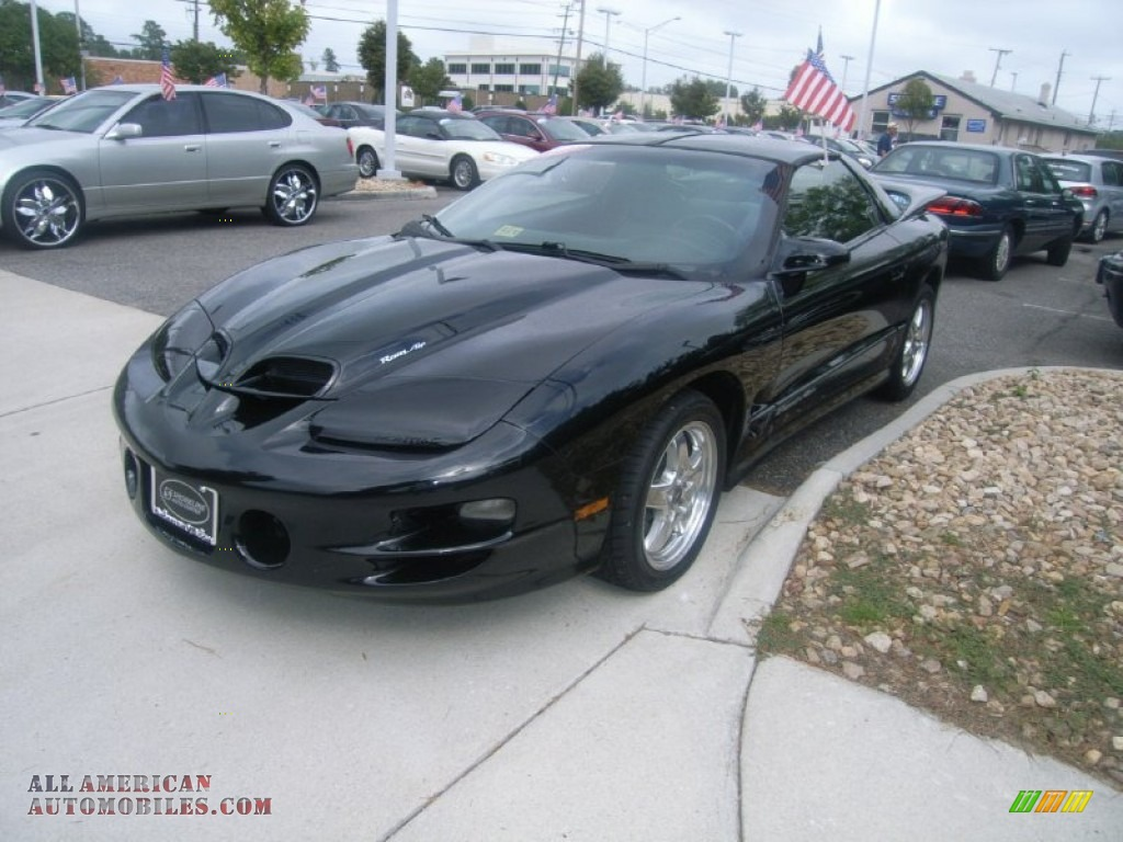 2002 pontiac firebird trans am ws 6 coupe in black 133885 all american automobiles buy. Black Bedroom Furniture Sets. Home Design Ideas