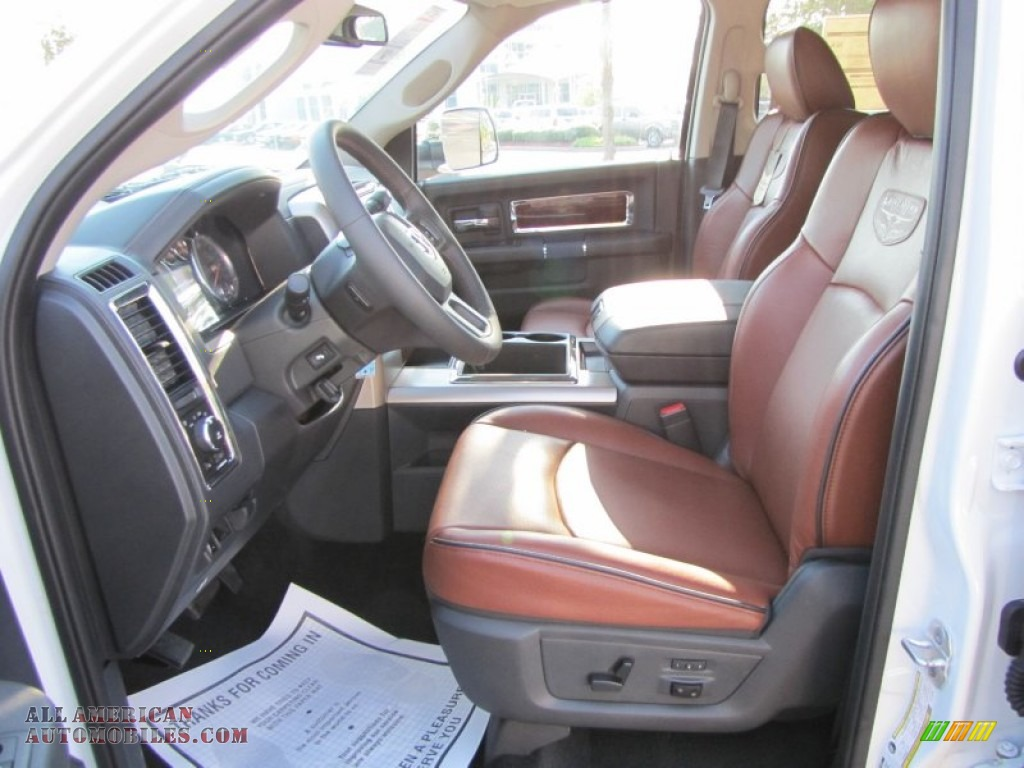 2012 Dodge Ram 3500 Hd Laramie Longhorn Crew Cab 4x4 Dually In Bright White Photo 7 110795