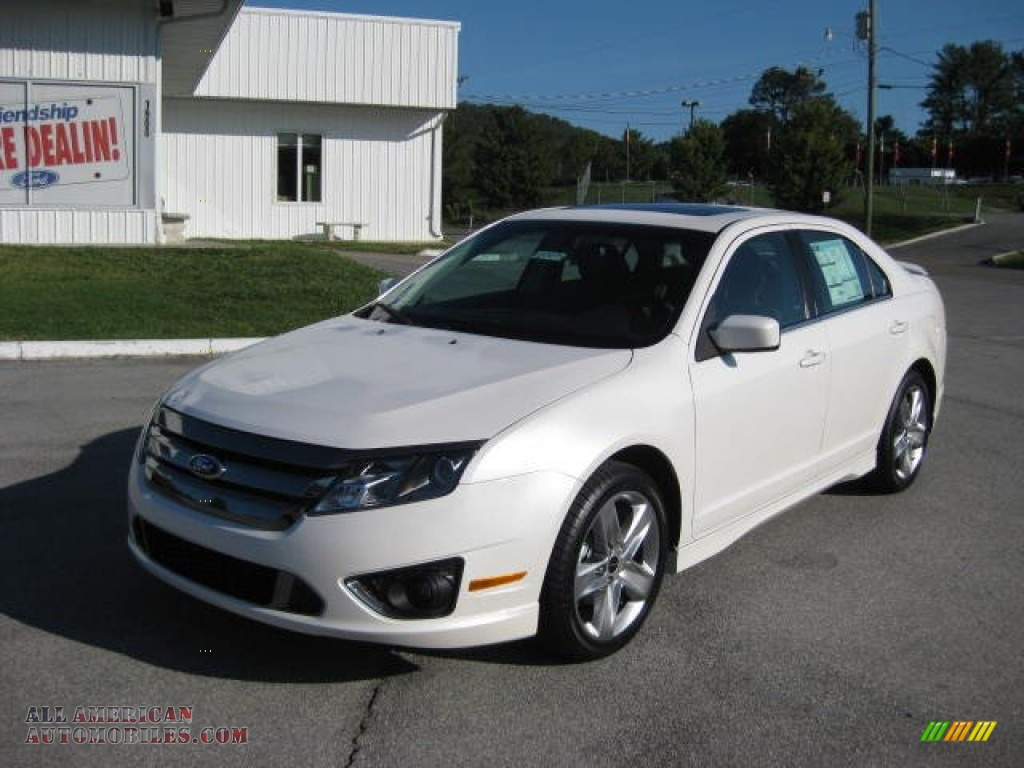 2012 ford fusion sport in white platinum tri coat photo 2 162135 all american automobiles. Black Bedroom Furniture Sets. Home Design Ideas