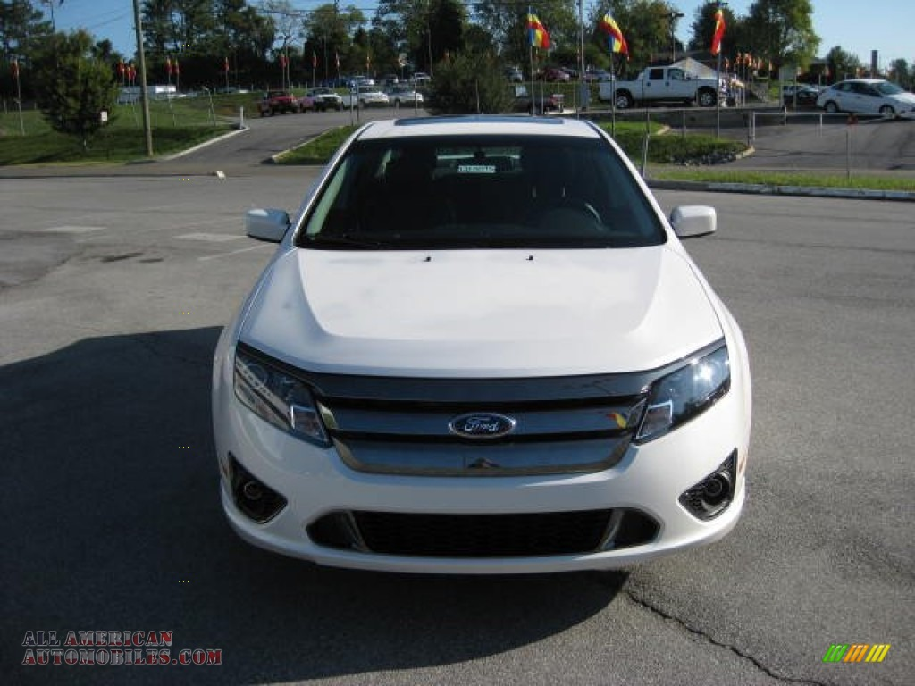 2012 ford fusion sport in white platinum tri coat photo 3 162135 all american automobiles. Black Bedroom Furniture Sets. Home Design Ideas