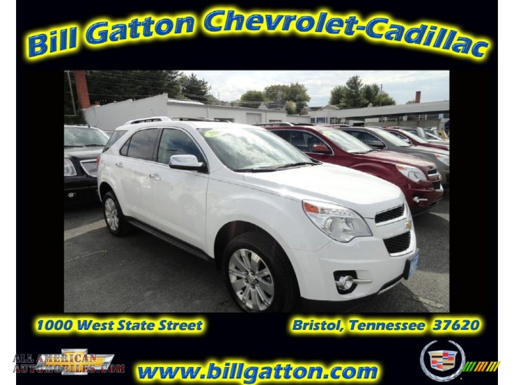 2010 chevrolet equinox ltz awd in summit white 285585 all american automobiles buy. Black Bedroom Furniture Sets. Home Design Ideas
