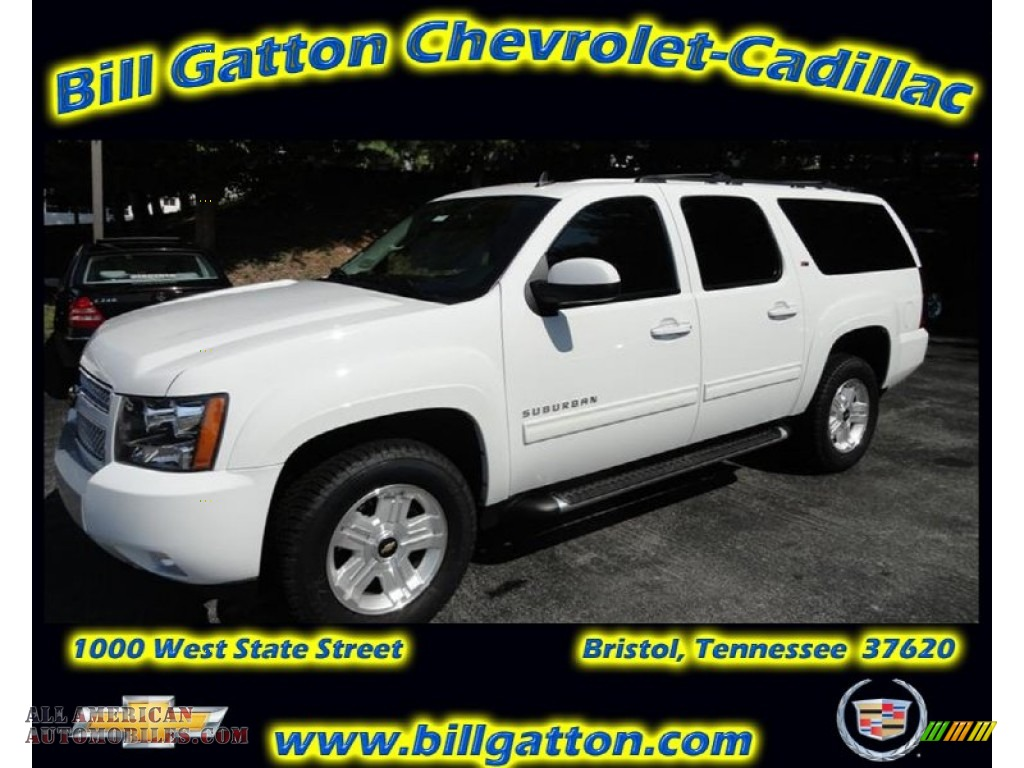 2011 chevrolet suburban z71 4x4 in summit white 345105 all american automobiles buy. Black Bedroom Furniture Sets. Home Design Ideas