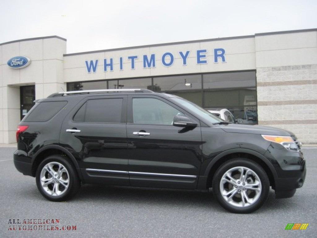 2011 Ford Explorer Limited 4wd In Tuxedo Black Metallic