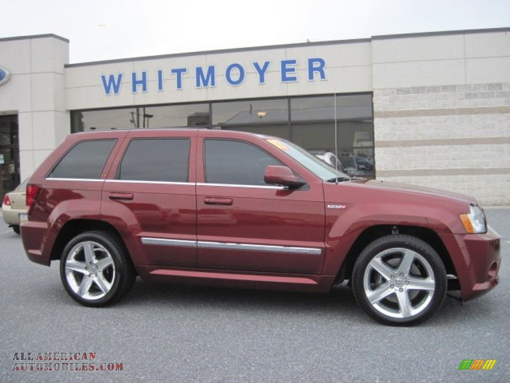 2007 jeep grand cherokee srt8 4x4 in red rock crystal pearl photo 13. Cars Review. Best American Auto & Cars Review