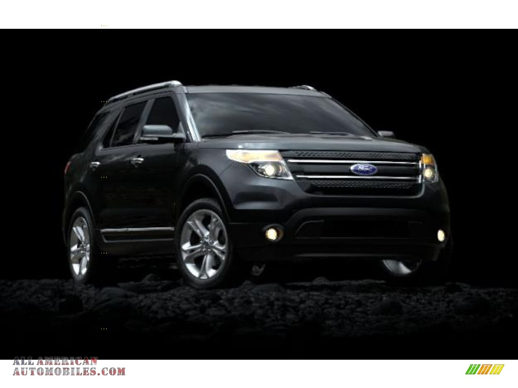 2012 Ford Explorer XLT 4WD in Black photo #2 - A27475 ...