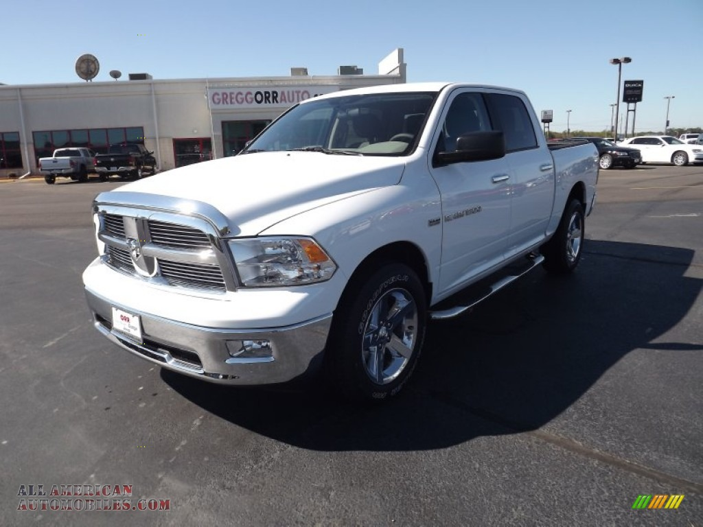 2012 dodge ram 1500 big horn crew cab 4x4 in bright white 107650. Cars Review. Best American Auto & Cars Review