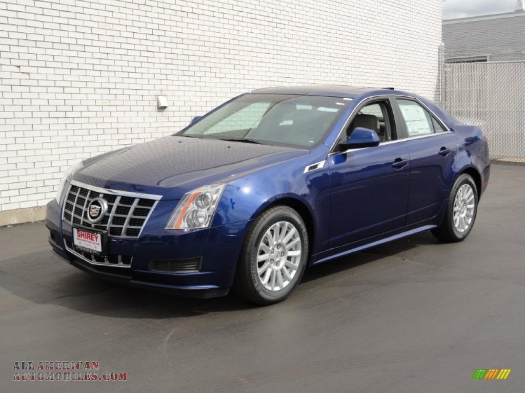 2012 Cadillac Cts 4 3 0 Awd Sedan In Opulent Blue Metallic