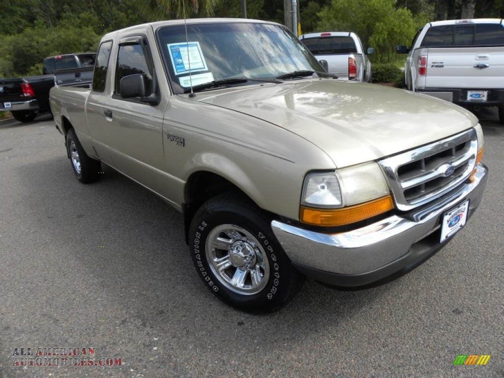 2000 ford ranger xlt supercab in harvest gold metallic a54713 all american automobiles buy. Black Bedroom Furniture Sets. Home Design Ideas