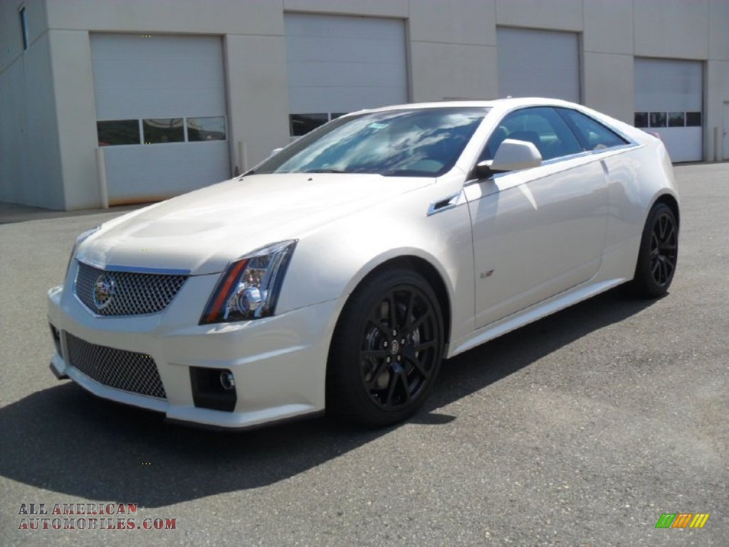 2012 cadillac cts v coupe in white diamond tricoat photo 5 112658. Cars Review. Best American Auto & Cars Review