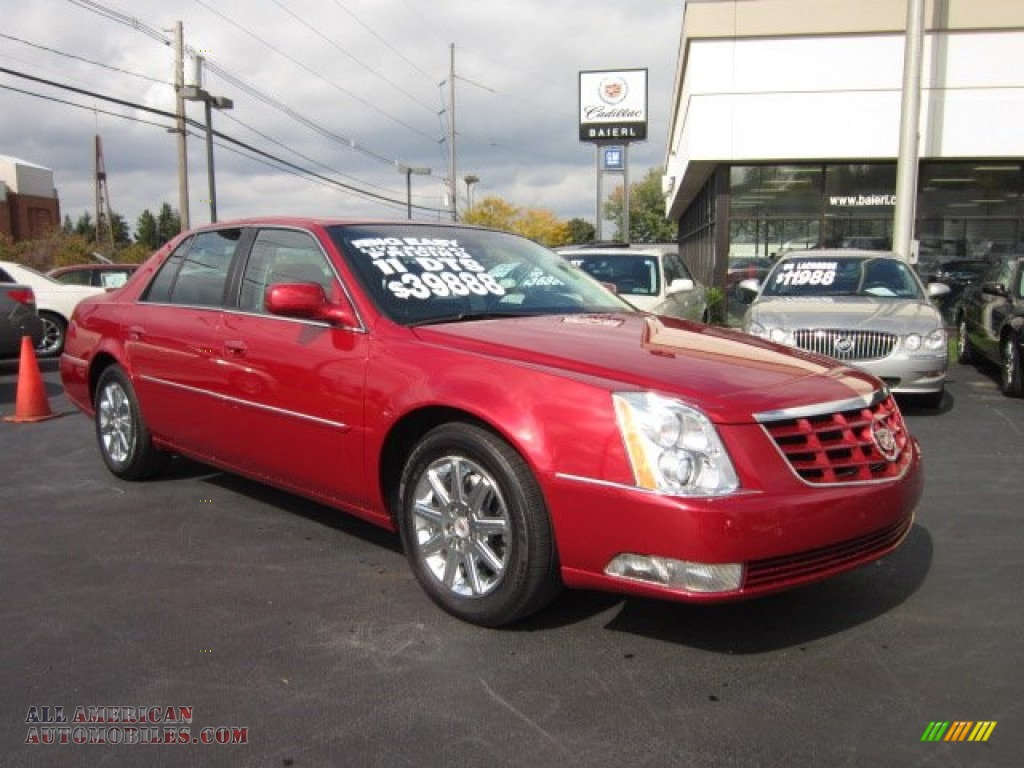 2011 cadillac dts premium in crystal red tintcoat 119992 all american automobiles buy. Black Bedroom Furniture Sets. Home Design Ideas