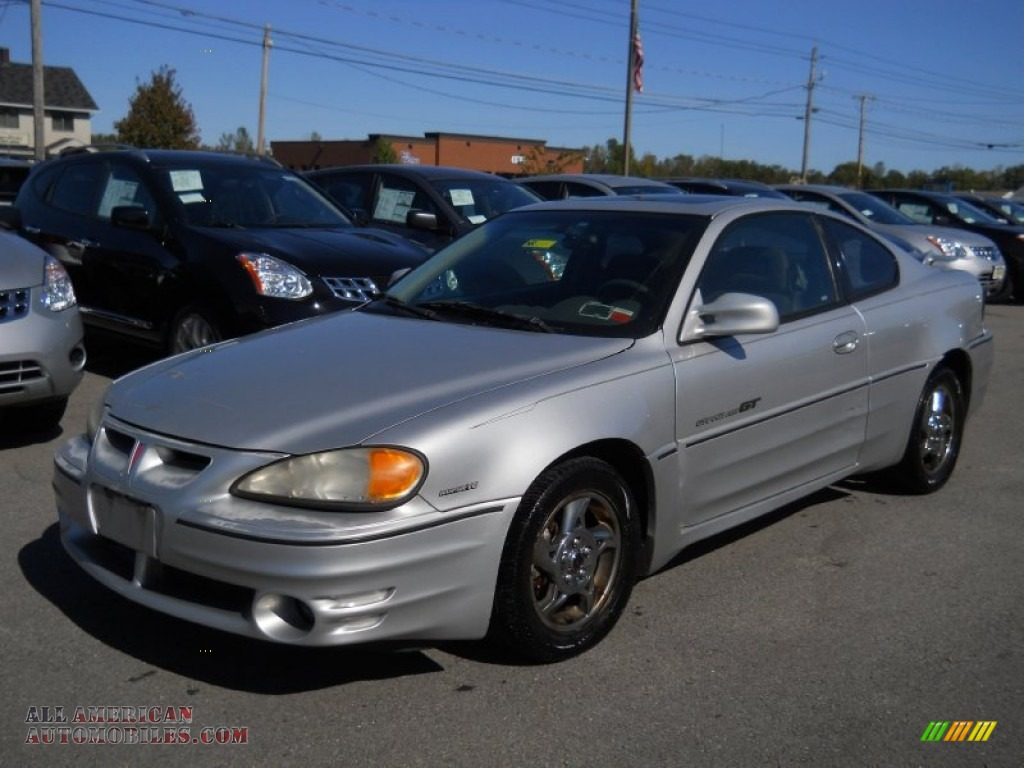 2002 pontiac grand am gt coupe in galaxy silver metallic. Black Bedroom Furniture Sets. Home Design Ideas