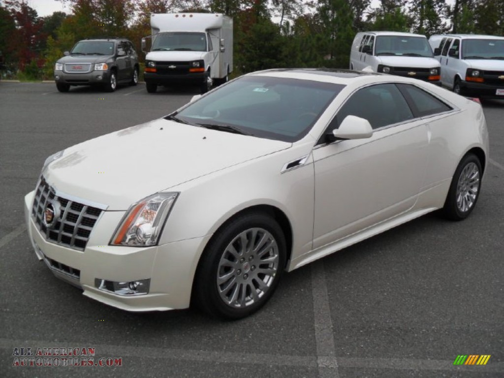 2012 Cadillac Cts 4 Awd Coupe In White Diamond Tricoat