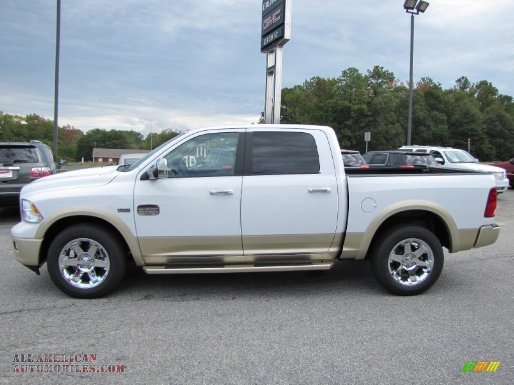 2012 dodge ram 1500 laramie longhorn crew cab 4x4 in bright white photo 4 145839 all. Black Bedroom Furniture Sets. Home Design Ideas