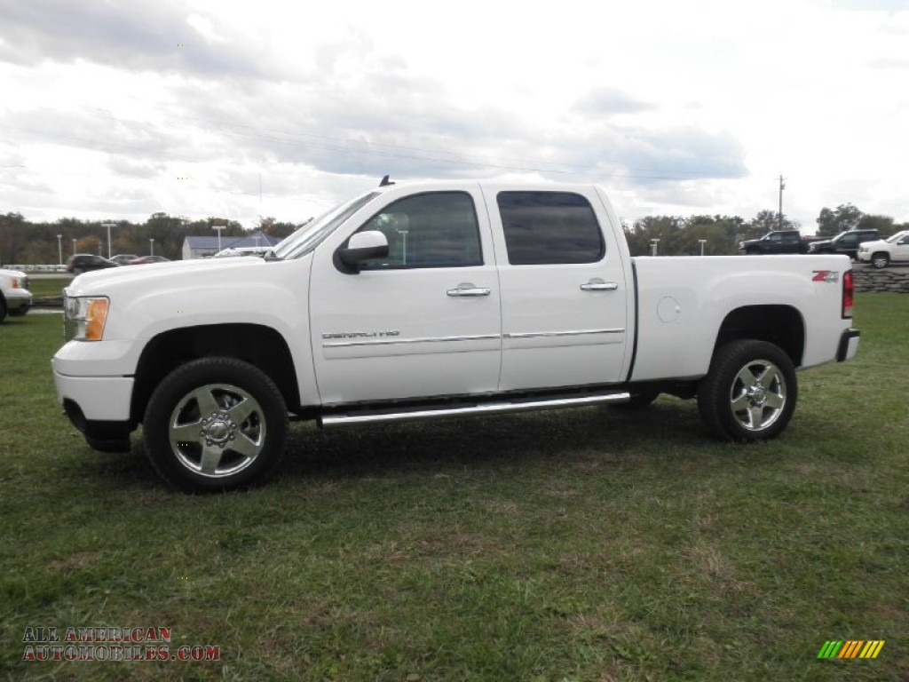 2012 gmc sierra 2500hd denali crew cab 4x4 in summit white photo 4 100587 all american. Black Bedroom Furniture Sets. Home Design Ideas