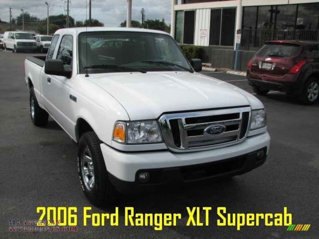 2006 Ford Ranger Xlt Supercab In Oxford White A90695