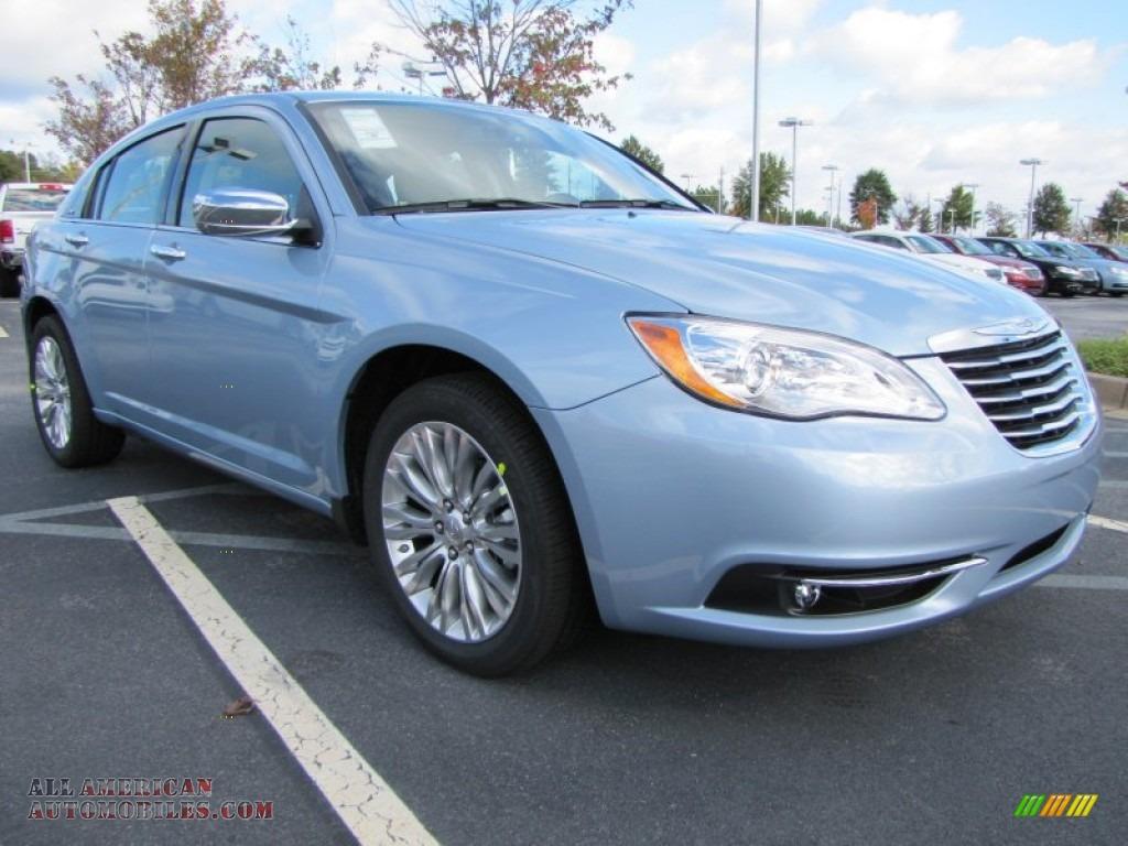 Volkswagen Mt Pleasant >> 2012 Chrysler 200 Limited Sedan in Crystal Blue Pearl Coat photo #4 - 143240 | All American ...