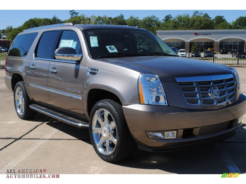 2012 cadillac escalade esv luxury in mocha steel metallic. Black Bedroom Furniture Sets. Home Design Ideas