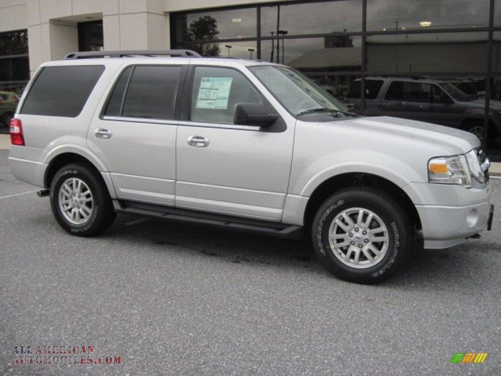 2012 Ford Expedition Xlt 4x4 In Ingot Silver Metallic