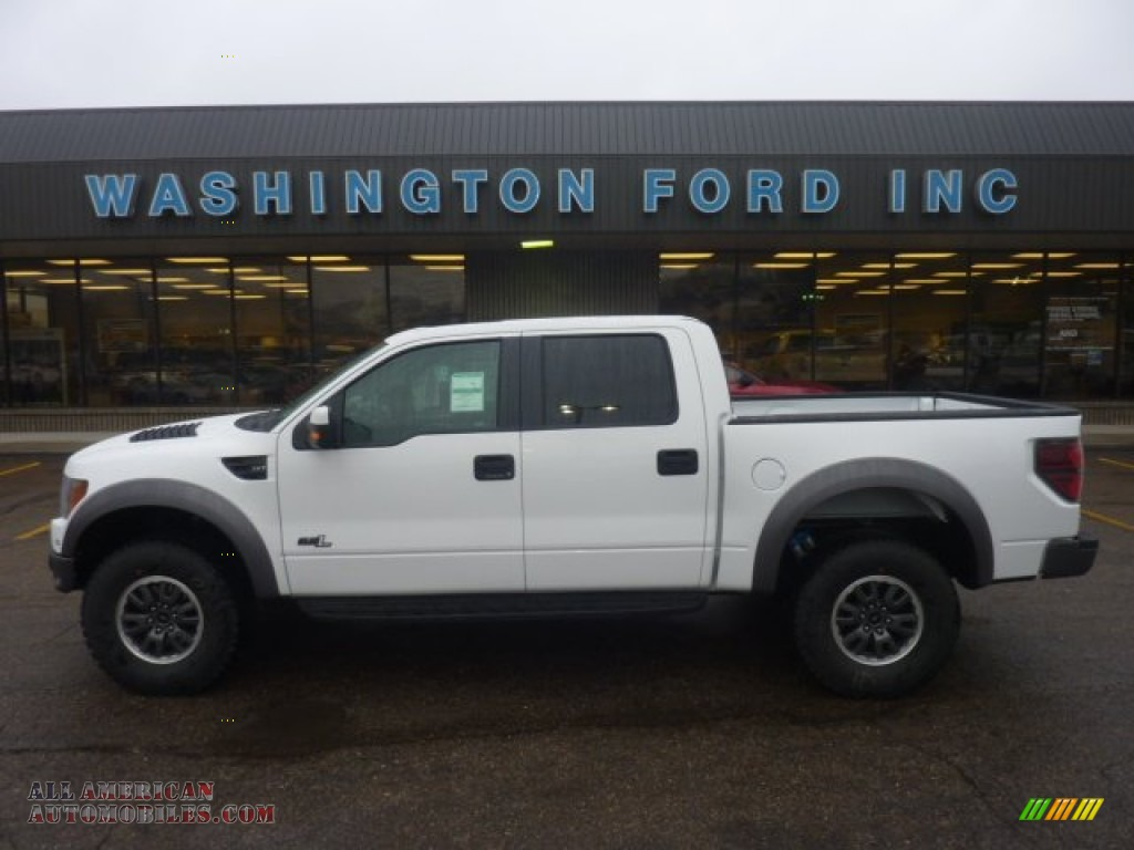 2011 ford f150 svt raptor supercrew 4x4 in oxford white photo 16 d05866 all american. Black Bedroom Furniture Sets. Home Design Ideas
