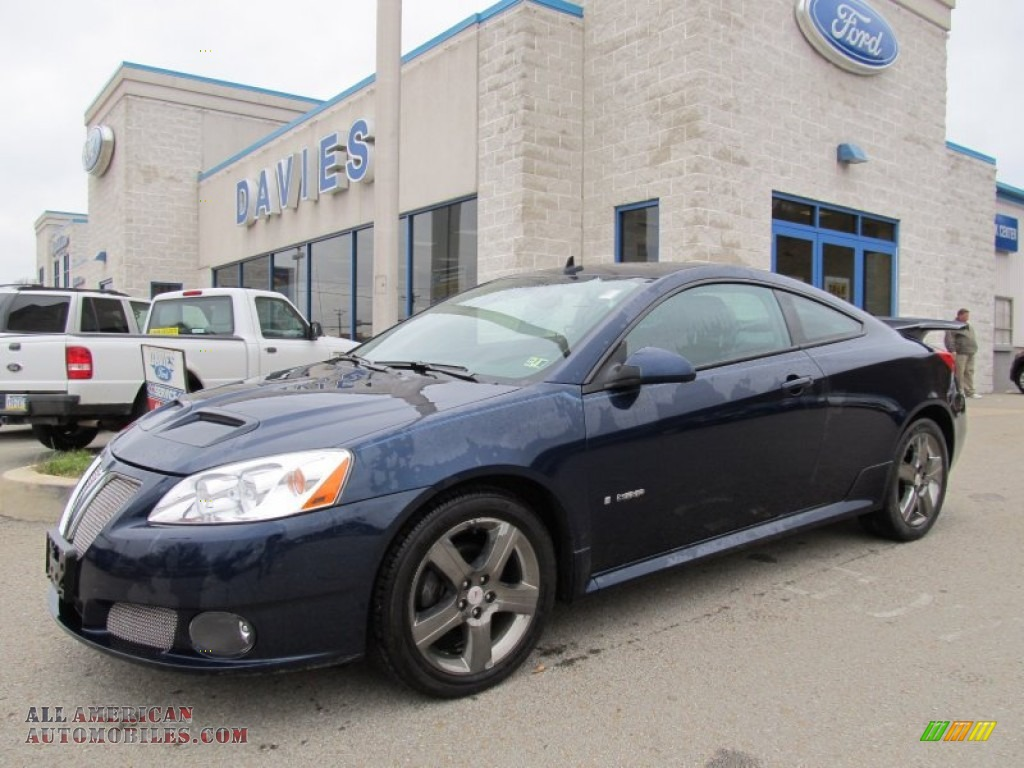 2008 Pontiac G6 GXP Coupe in Midnight Blue Metallic - 198833 | All ...