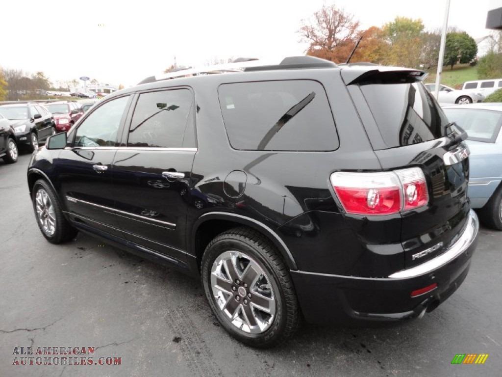 2012 gmc acadia denali awd in carbon black metallic photo 3 175054 all american automobiles. Black Bedroom Furniture Sets. Home Design Ideas