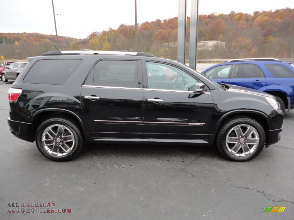 2012 gmc acadia denali awd in carbon black metallic photo 6 175054 all american automobiles. Black Bedroom Furniture Sets. Home Design Ideas