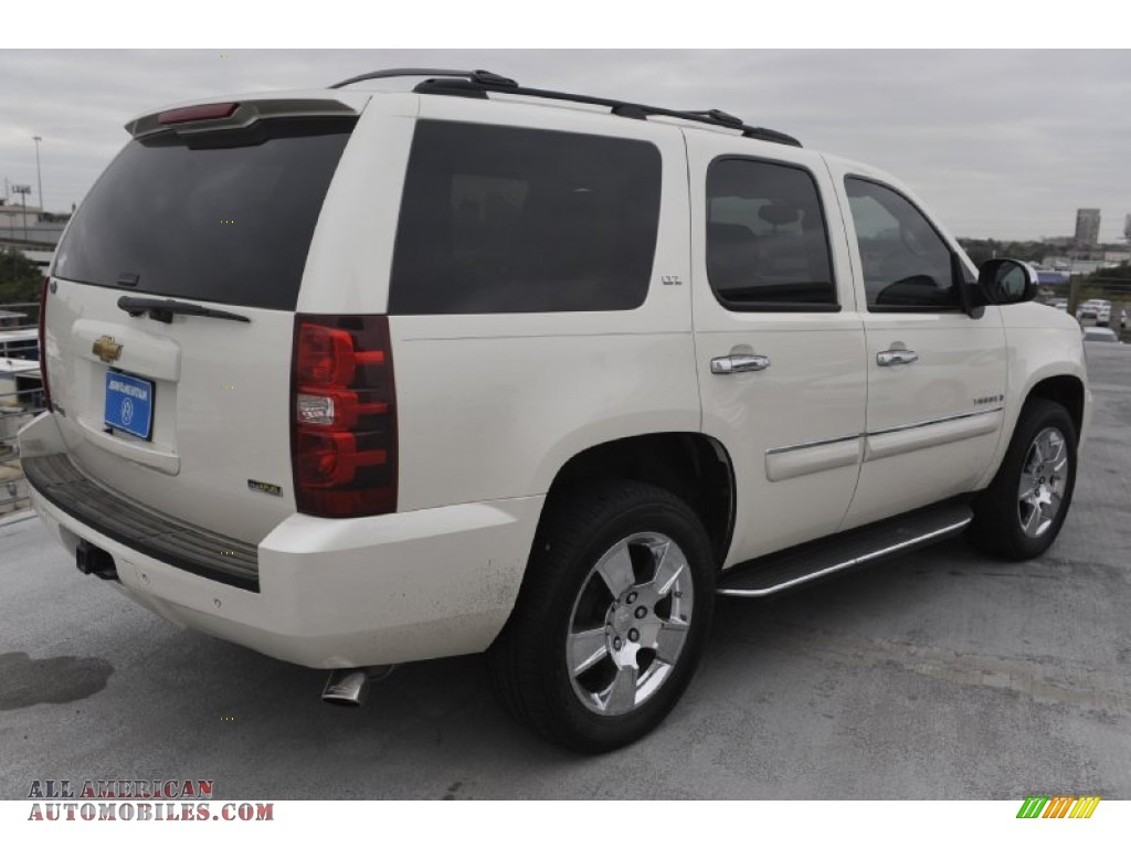 2008 Chevrolet Tahoe Ltz In White Diamond Tricoat Photo 8
