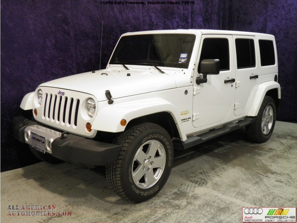 2011 jeep wrangler unlimited sahara 4x4 in bright white photo 4 569962 all american. Black Bedroom Furniture Sets. Home Design Ideas