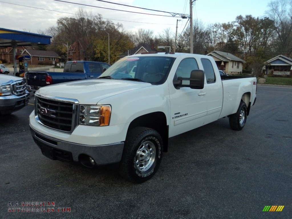 2007 gmc sierra 2500hd slt extended cab 4x4 in summit. Black Bedroom Furniture Sets. Home Design Ideas