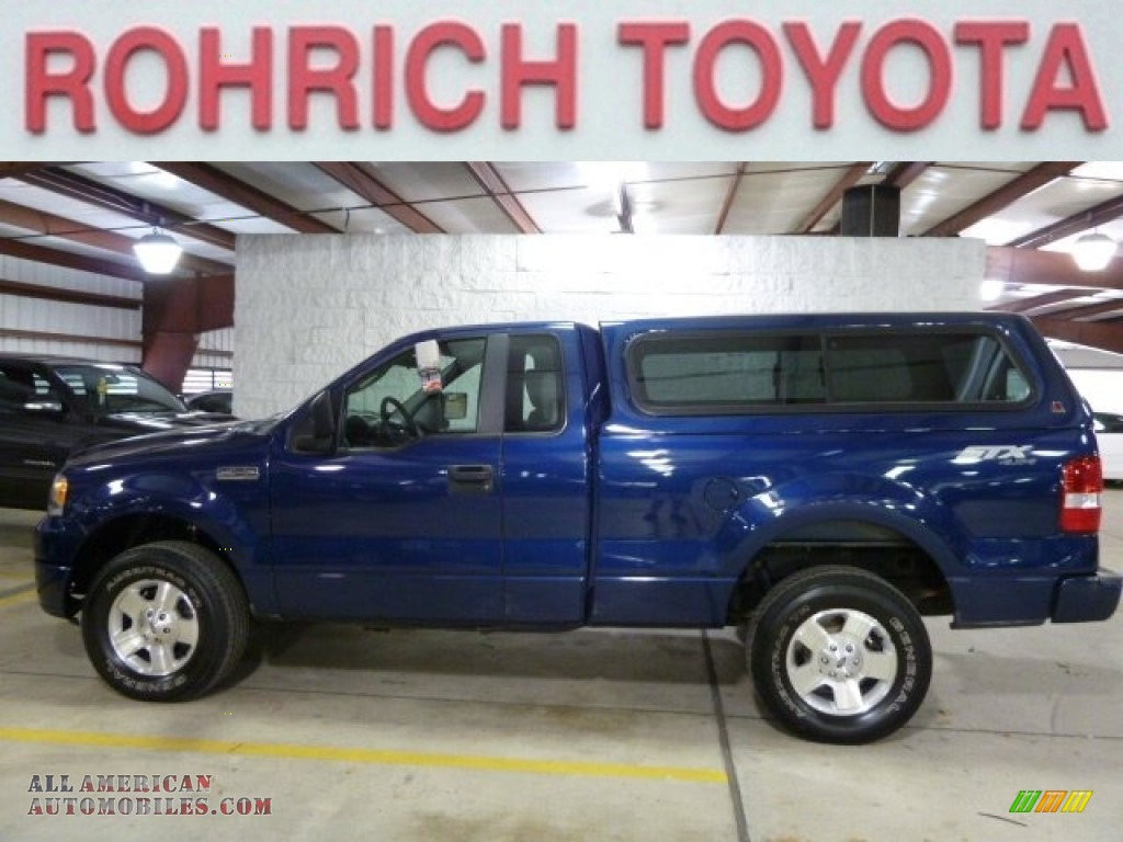 2007 Ford F150 STX Regular Cab 4x4 in Dark Blue Pearl Metallic - B73471 | All American ...